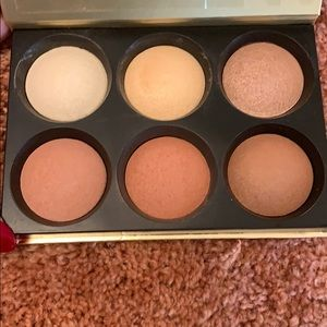 Bare Minerals Highlighter, Blush, Bronzer Palette